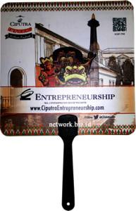 Kipas Promosi Plastik PP - PVC Ciputra Entrepreneurship