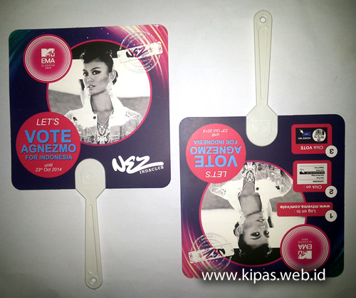 Kipas Vote Agnes Monica