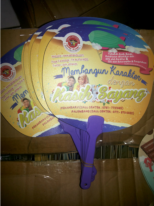 Kipas Promosi Alifa Kids Pekan Baru Riau