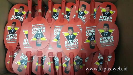 Kipas Kampanye Rycko Menoza
