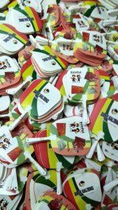 Kipas Plastik promosi Bank Kalteng