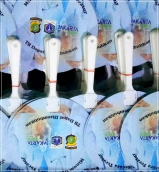 kipas promosi art carton indonesia bebas tbc