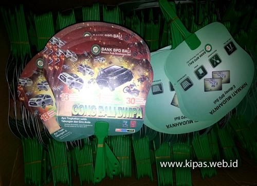 Kipas Plastik Bank BPD Bali