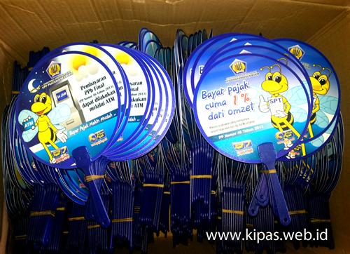 Kipas Plastik Promosi Pajak