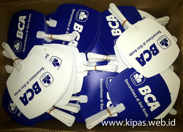 Kipas Promosi Bank BCA