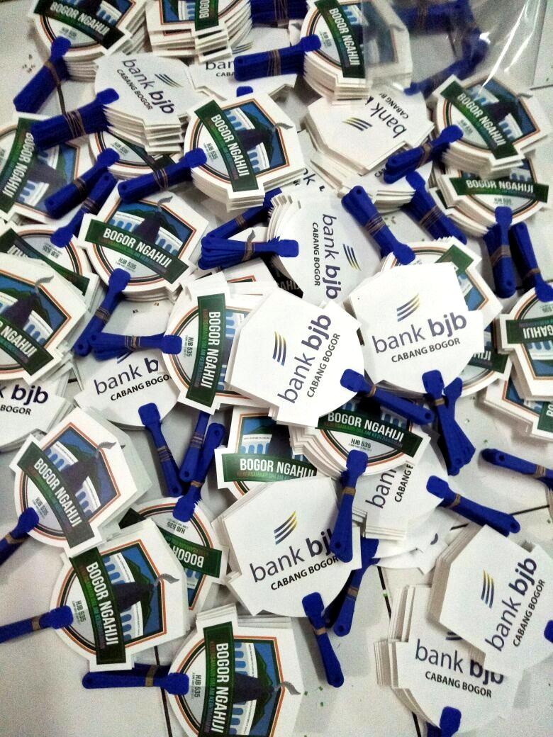 Kipas Plastik Promosi Bank BJB Cab Bogor