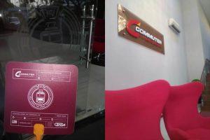 Kipas Plastik Promosi PT KAI Commuter Jabodetabek