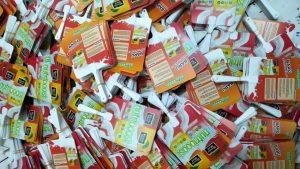 Kipas Plastik Promosi Nutriboost