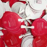 Kipas Plastik Promosi Lash Studio