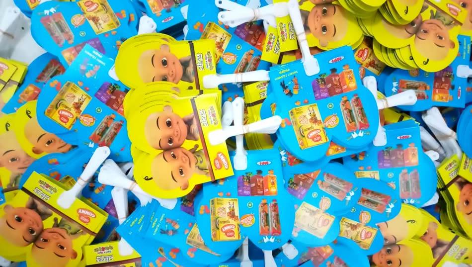 Kipas Plastik Promosi Upin dan Ipin Citrex Gummy