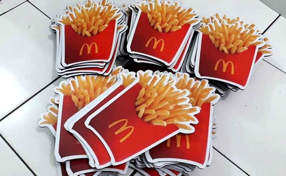 mouse pad mc donald