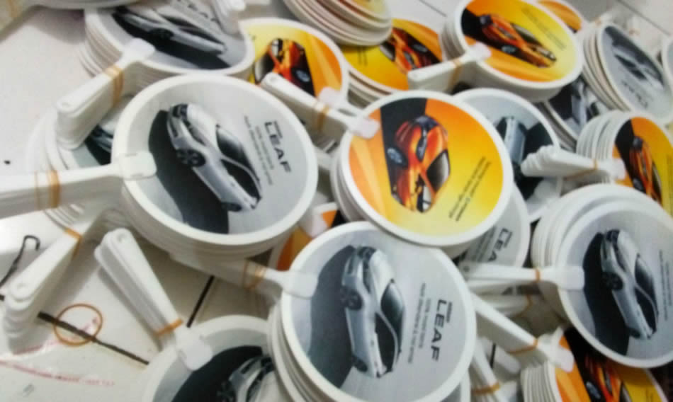 Kipas Plastik PVC Nissan Leaf
