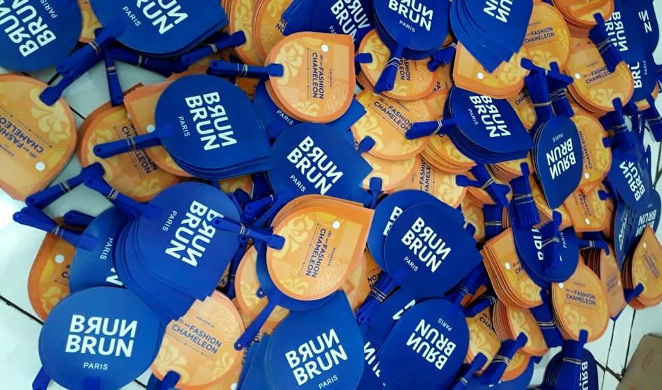 Kipas Plastik PVC Brun Brun Paris