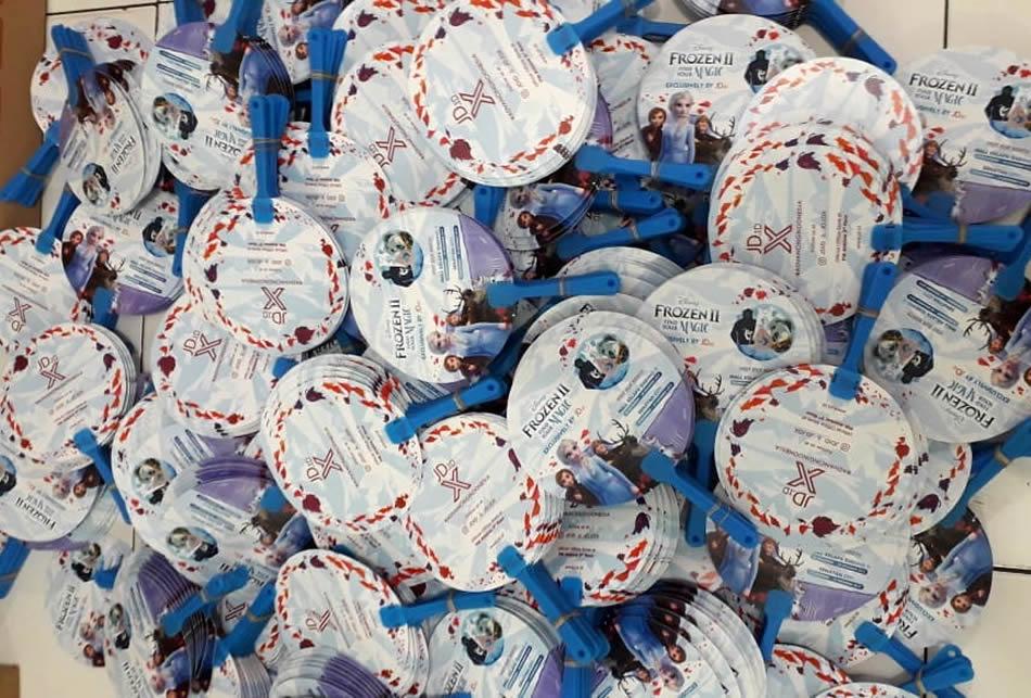 Kipas Plastik Promosi PVC JD.id Frozen