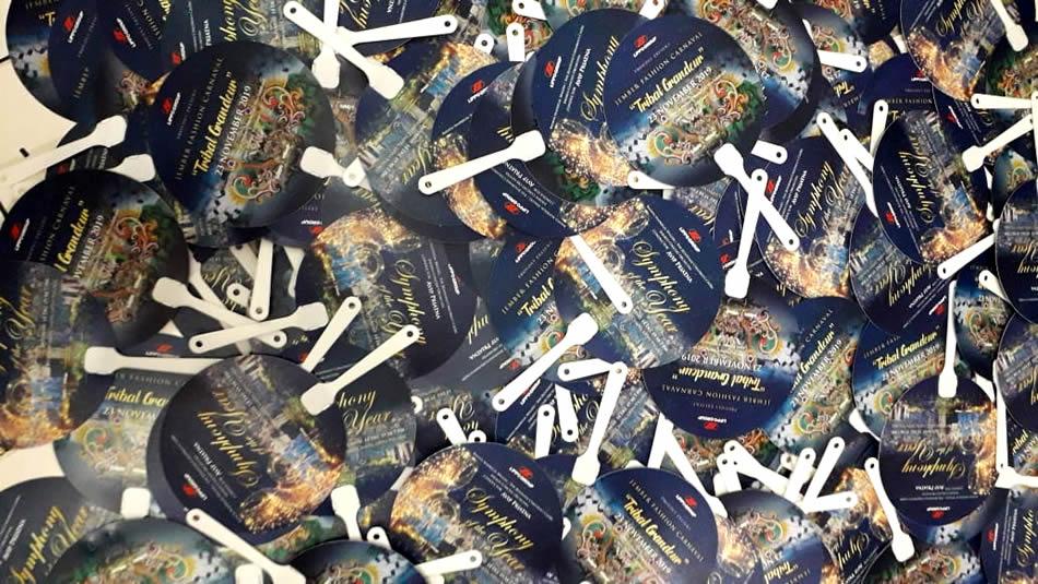 Kipas Plastik Promosi PVC Lippo Karawaci