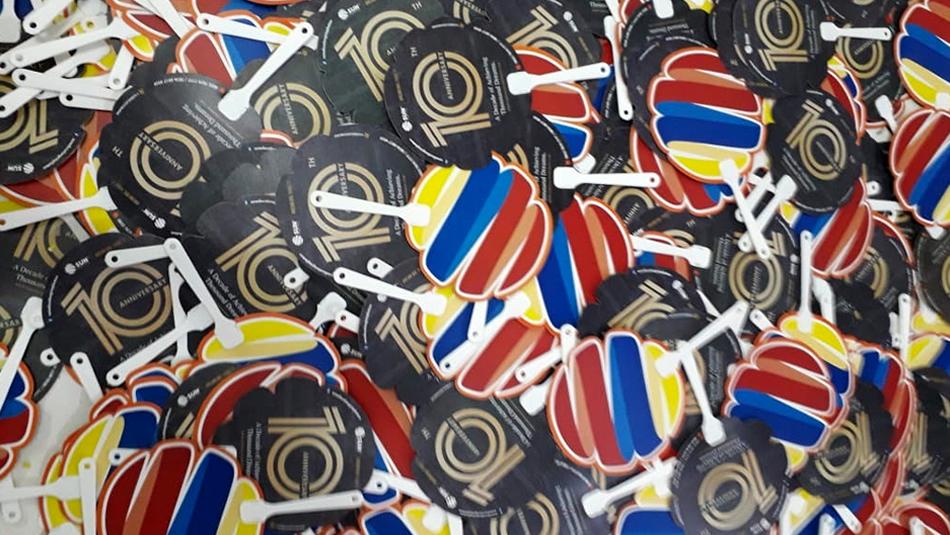 Repeat Order Kipas Plastik PVC Sun Education
