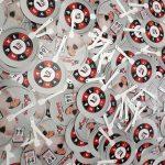 Kipas Promosi Bahan Plastik PVC Asuransi SLU